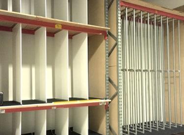 Fixed Rack Shelving